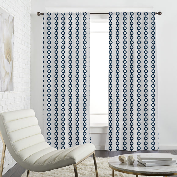 Maritime Chain Curtains