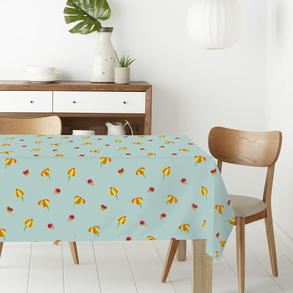 Butterflies And Blossoms Rectangle Tablecloths
