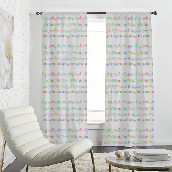 Easter Border Curtains