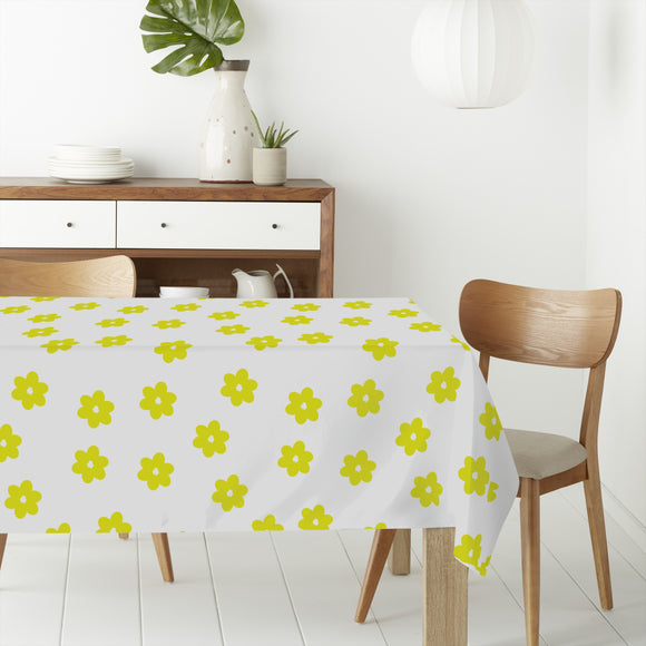 Scattered Blossoms Rectangle Tablecloths