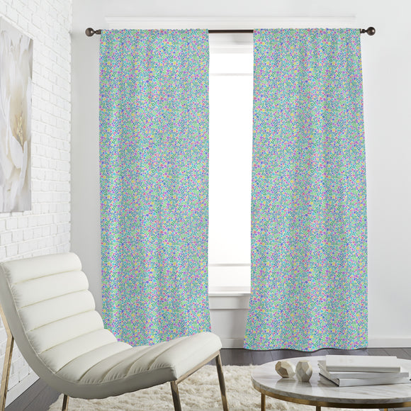Thousands Of Flowers Curtains