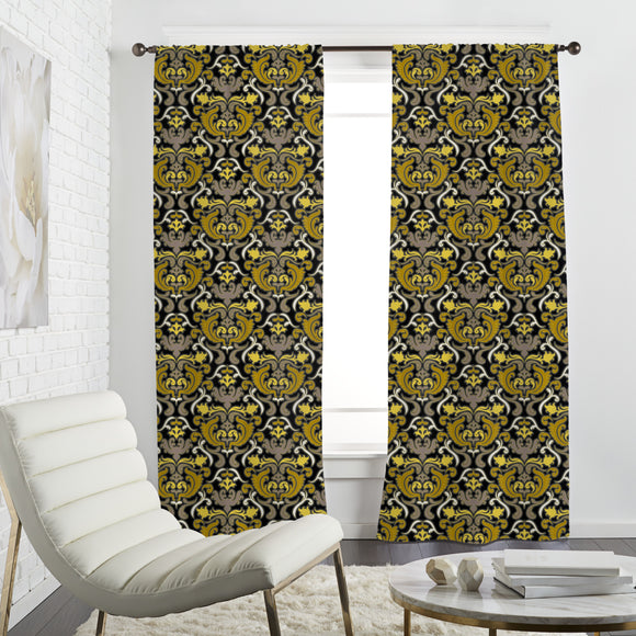 Bon Apart Yellow Curtains
