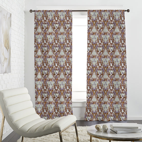 Fringed Ikat Curtains
