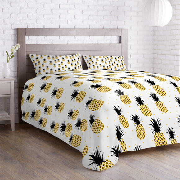 Enamored Pineapples Curtains