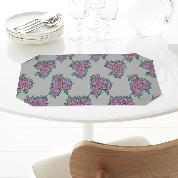 Blooming Rose Bouquet Rectangle Tablecloths