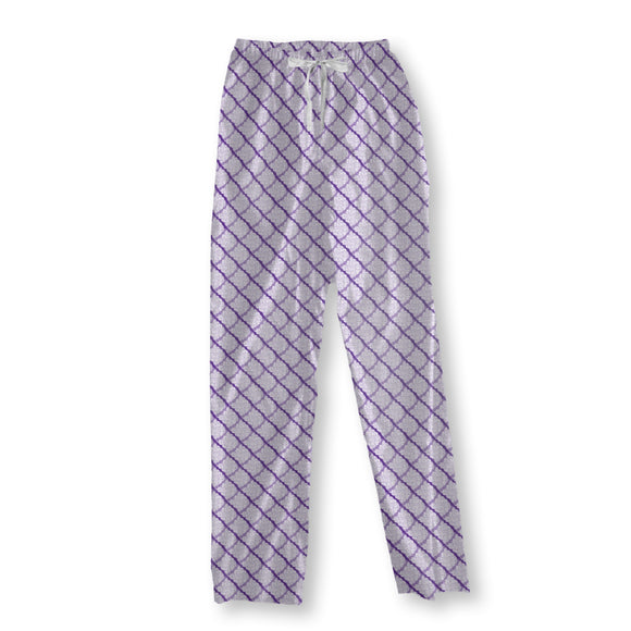 Rhombus With Structure Pajama Pants