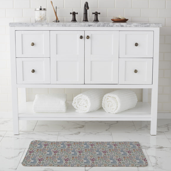 Cute Rabbit Bathroom Rug