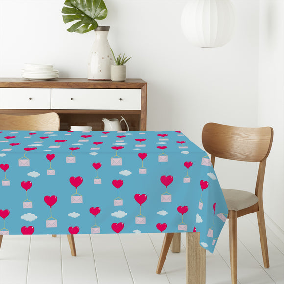 Flying Love Letters Rectangle Tablecloths
