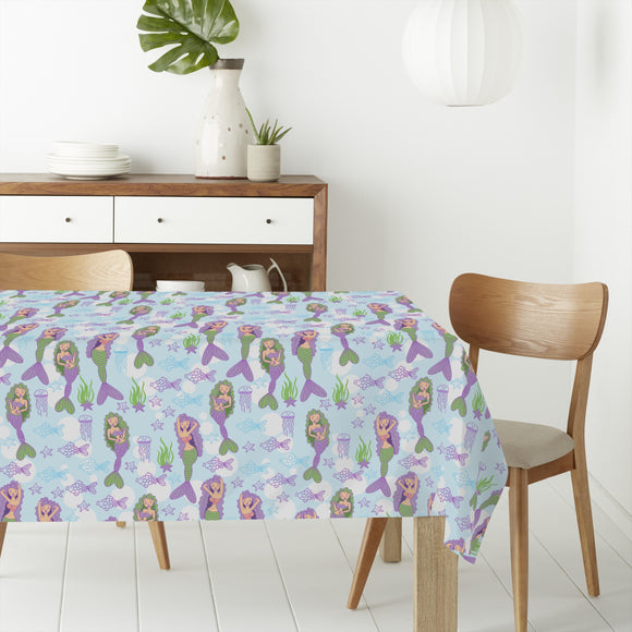 Mermaid Rectangle Tablecloths