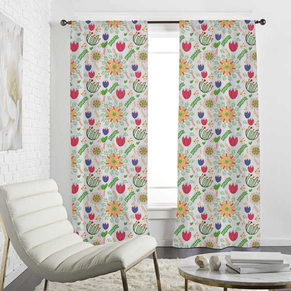 Spring Festival Curtains