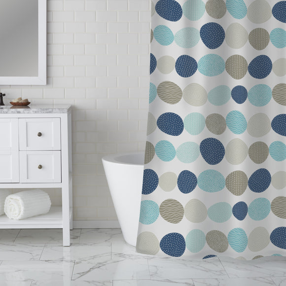 Cute Stones Shower Curtain