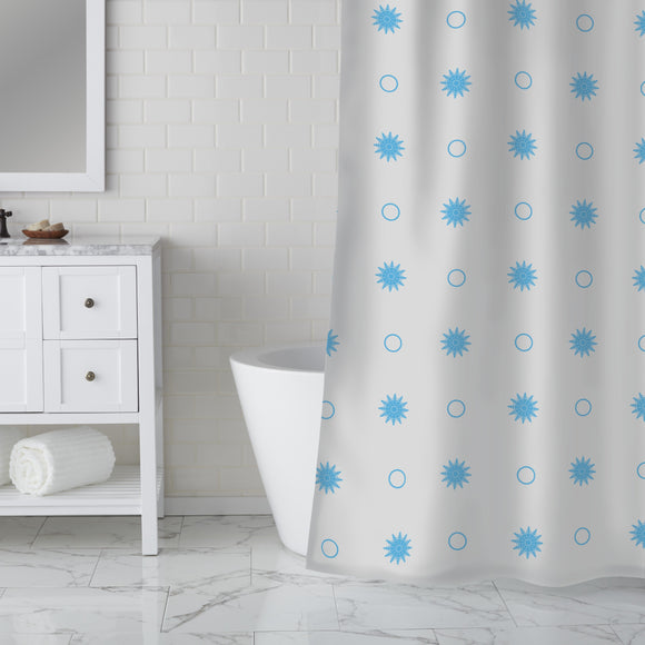 Cold Holidays Shower Curtain