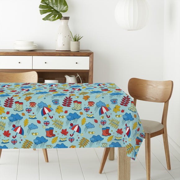 Autumn in London Rectangle Tablecloths