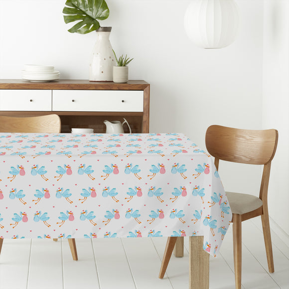 Baby Luck  Rectangle Tablecloths