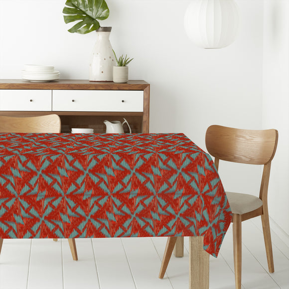 Windmill Ikat Rectangle Tablecloths