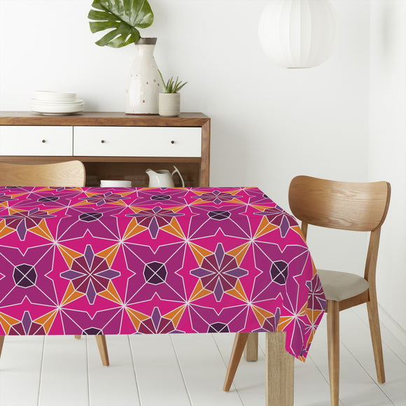 Polygonal Formations Rectangle Tablecloths