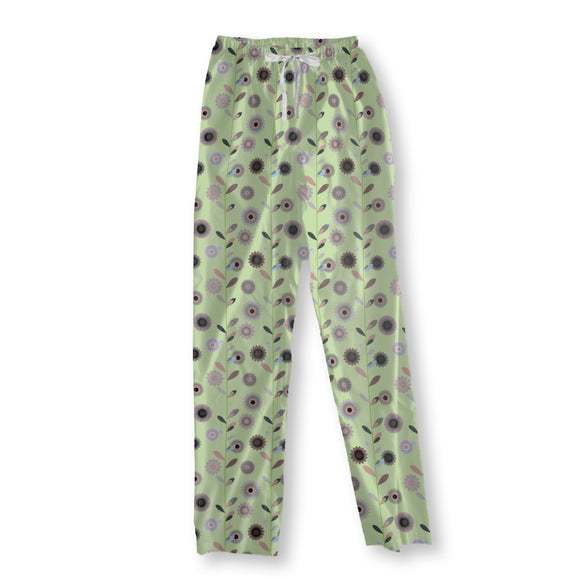 High flowers Pajama Pants