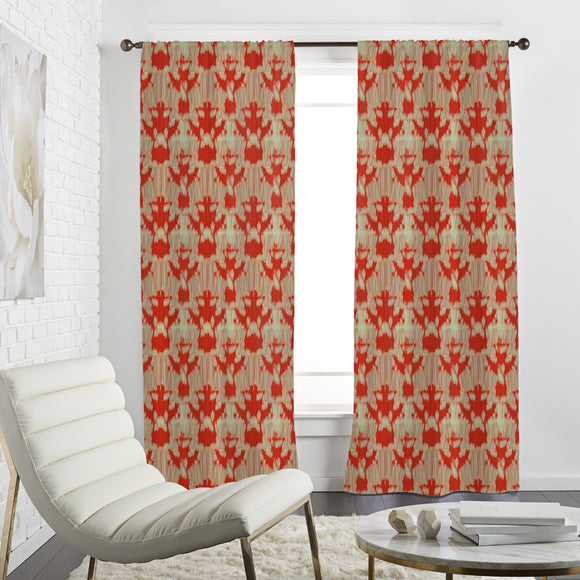 Ikat Shapes Curtains