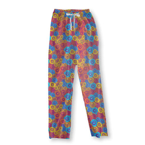 Bright swirling Pajama Pants