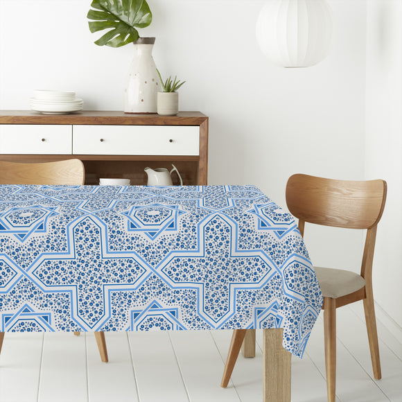 Arabesque Roses Rectangle Tablecloths
