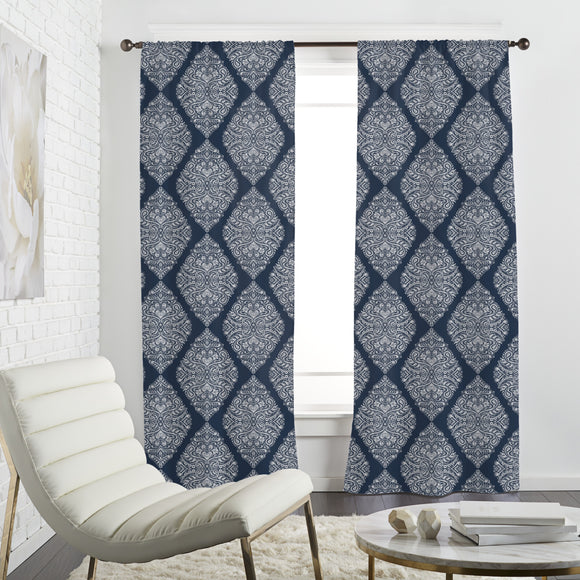 Mystic Damask Curtains