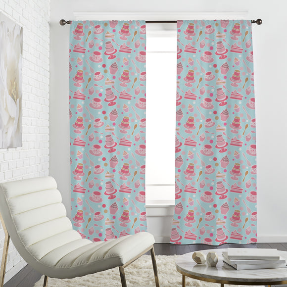 Cake party Curtains