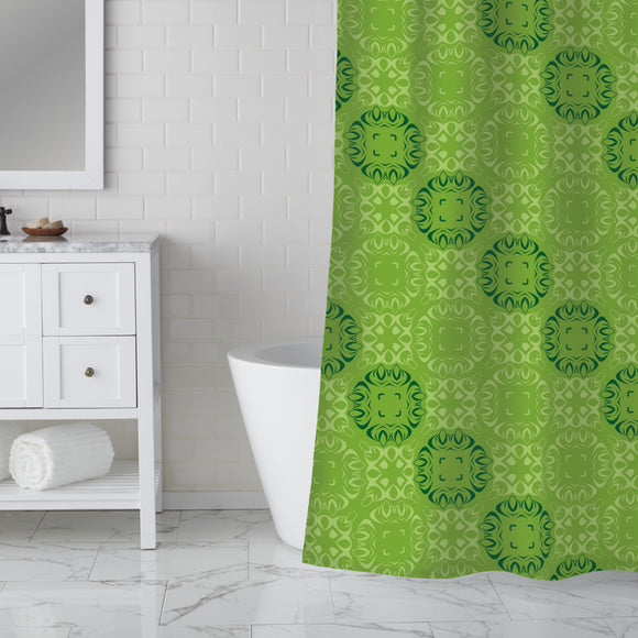 along Shower Curtain