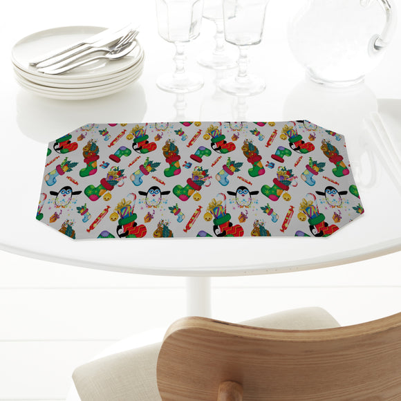 Gifts and penguins Placemats