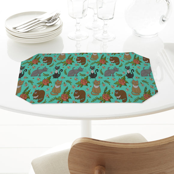 Cats in spring Placemats
