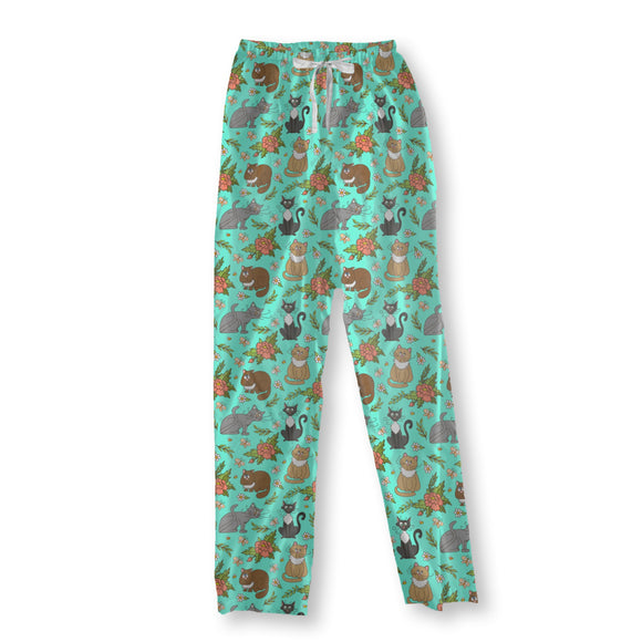 Cats in spring Pajama Pants