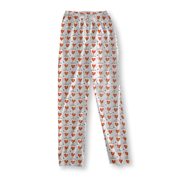 Little Bees And Love Pajama Pants