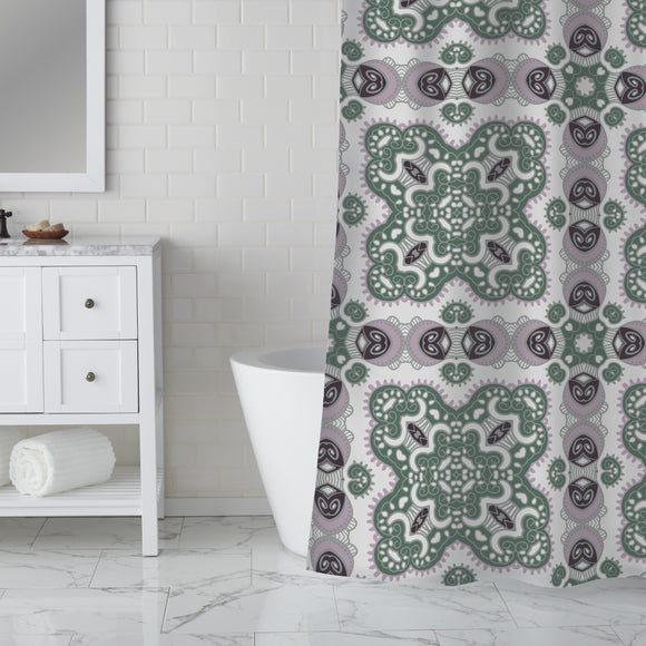 To Find Oneself Shower Curtain