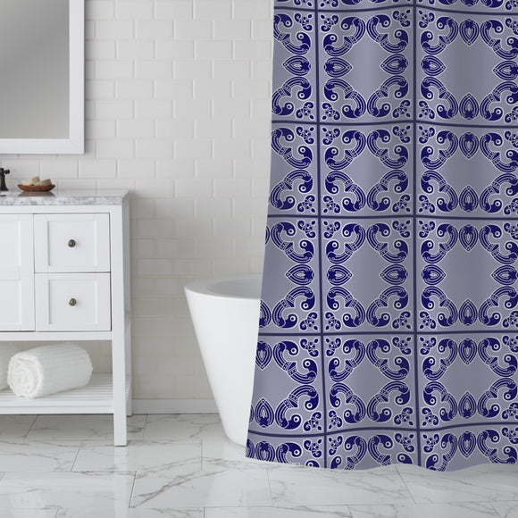 Accent the corners Shower Curtain