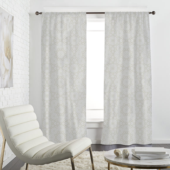 The idea of an flower Curtains