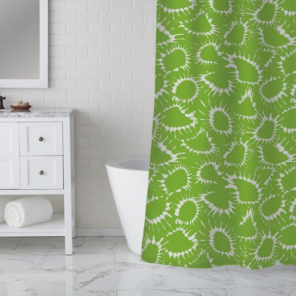 To drift apart Shower Curtain
