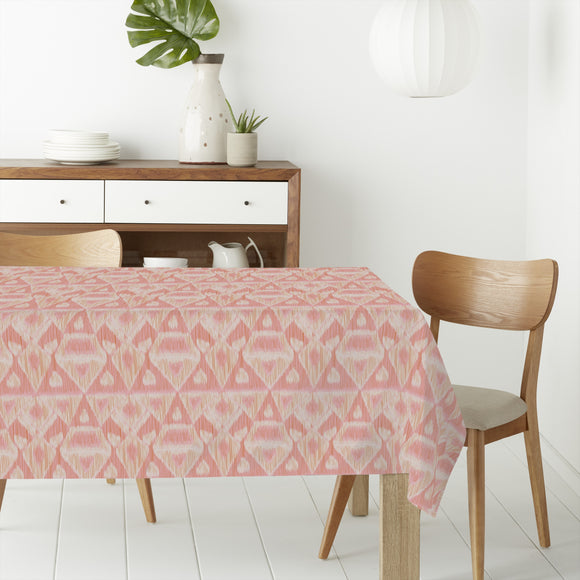 Waterfall Ikat Rectangle Tablecloths