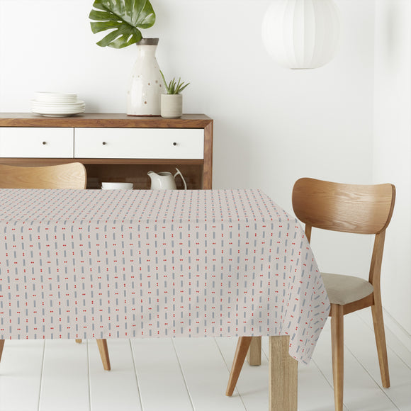Dots and lines Rectangle Tablecloths