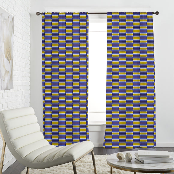 Sechziger Party Curtains