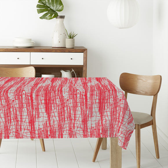 Abstract dots and lines Rectangle Tablecloths