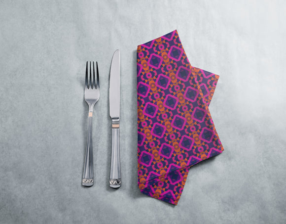 70s Psychedelic Wall Napkins