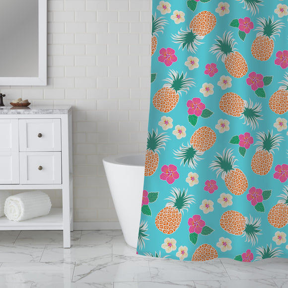 Exotic party Shower Curtain