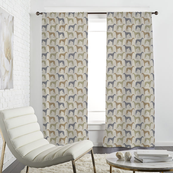 Greyhounds Party Curtains