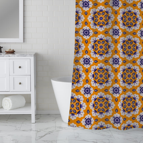 Everything is in bloom Shower Curtain