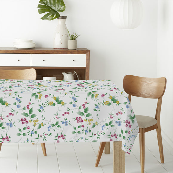 Flowers Branches Rectangle Tablecloths