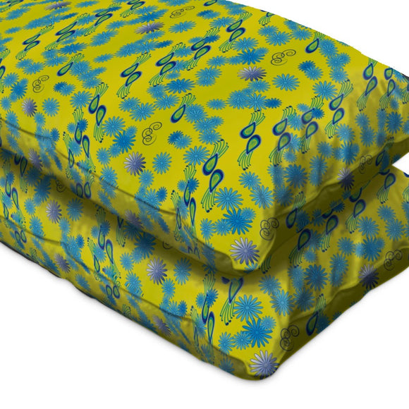 Bellies Paradiese Yellow Fitted Sheets