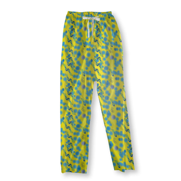 Bellies Paradiese Yellow Pajama Pants