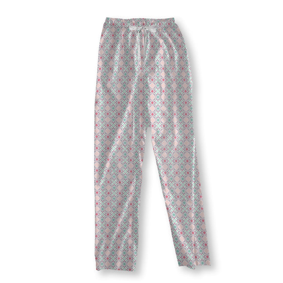 On a patchwork blanket Pajama Pants