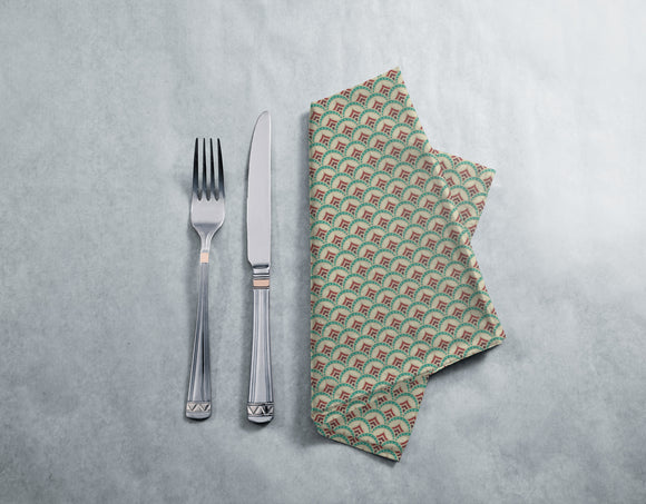 Art Deco Rising Napkins