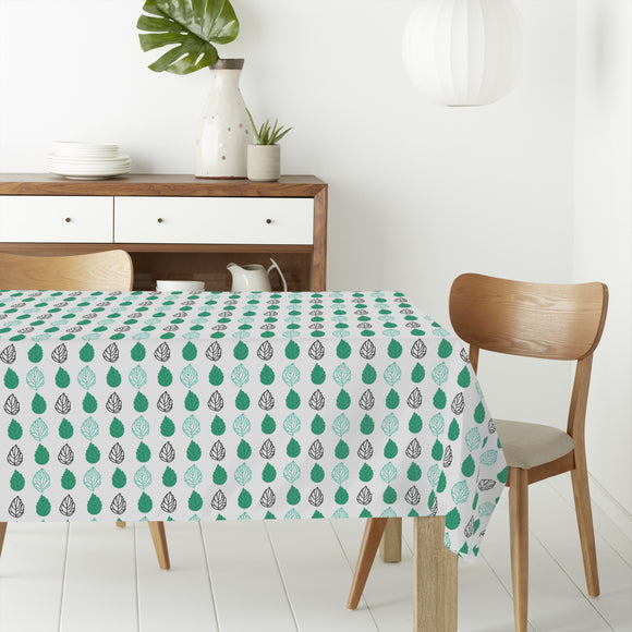 Versions Of Leafs Rectangle Tablecloths