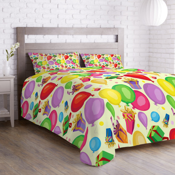 Gifts and balloons Duvet